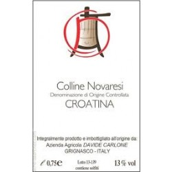 Davide Carlone Croatina Colline Novaresi 2013